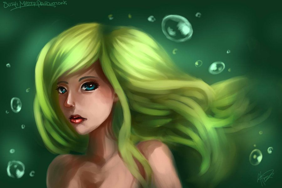 Girl in Water by sushi-master901