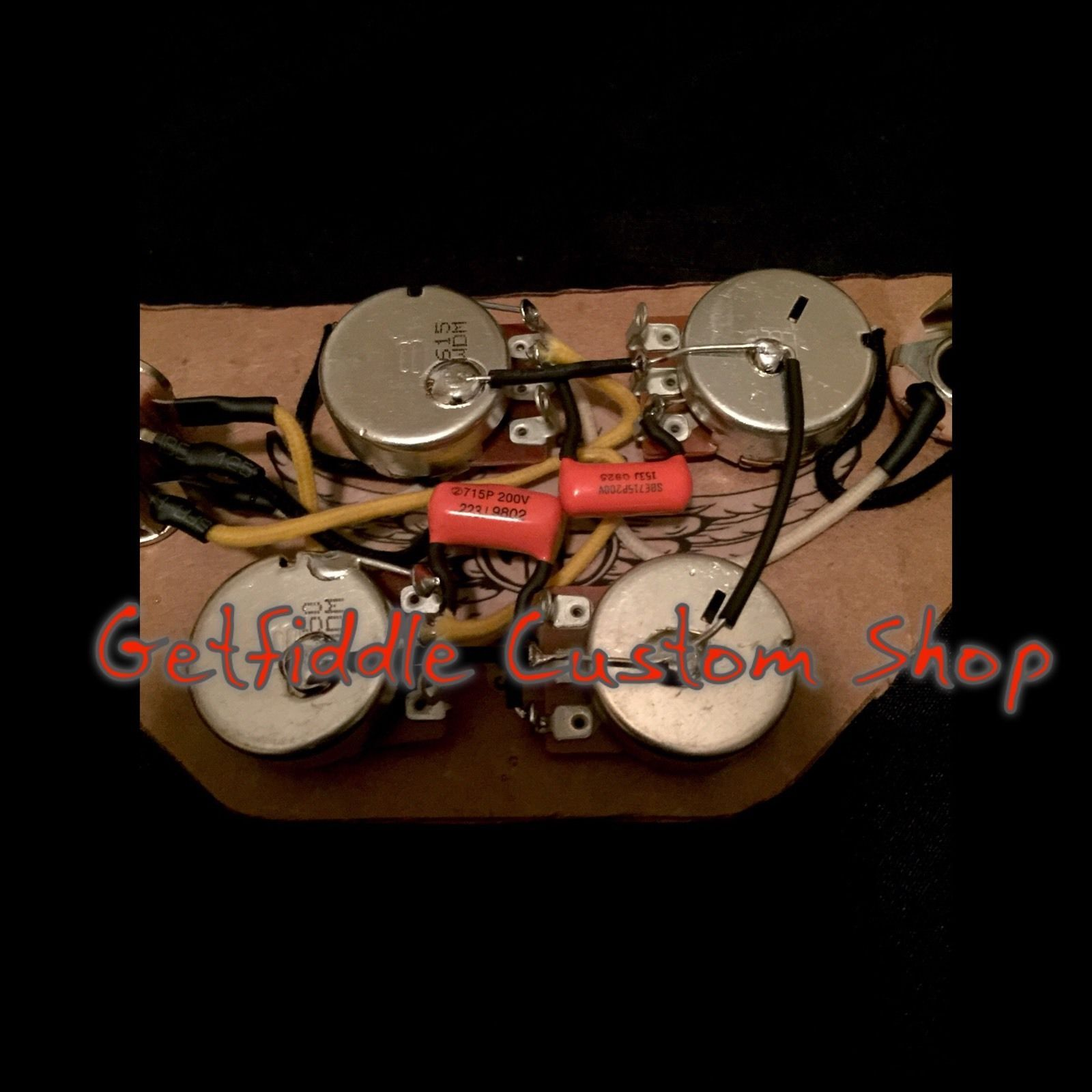 small resolution of sg 50 s wiring harness gibson epiphone 022 015 cap bourns pots switchcraft ebay
