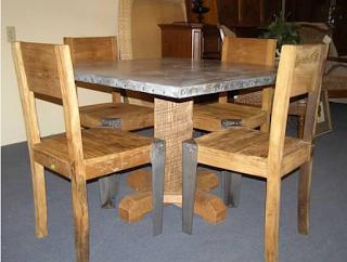 Rescuerestoreredecorate Zinc Table Top  Zinc  Pinterest Interesting Restoring Dining Room Table Inspiration Design