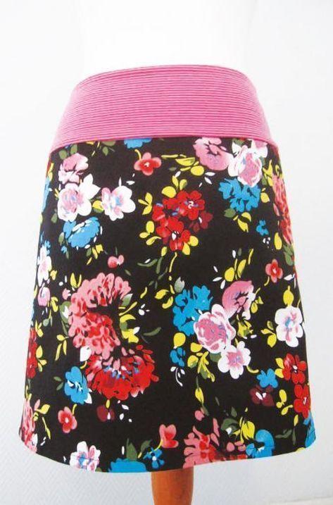 Cousez vous-même la jupe de printemps   – Nähen