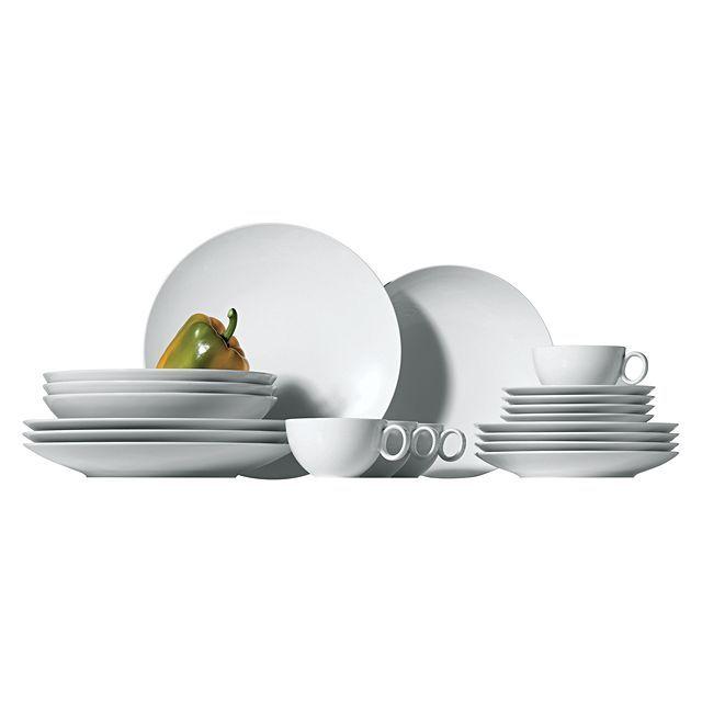 Loft 20-Piece Dinner Set Dinner sets - bosch küchenmaschine profi 67