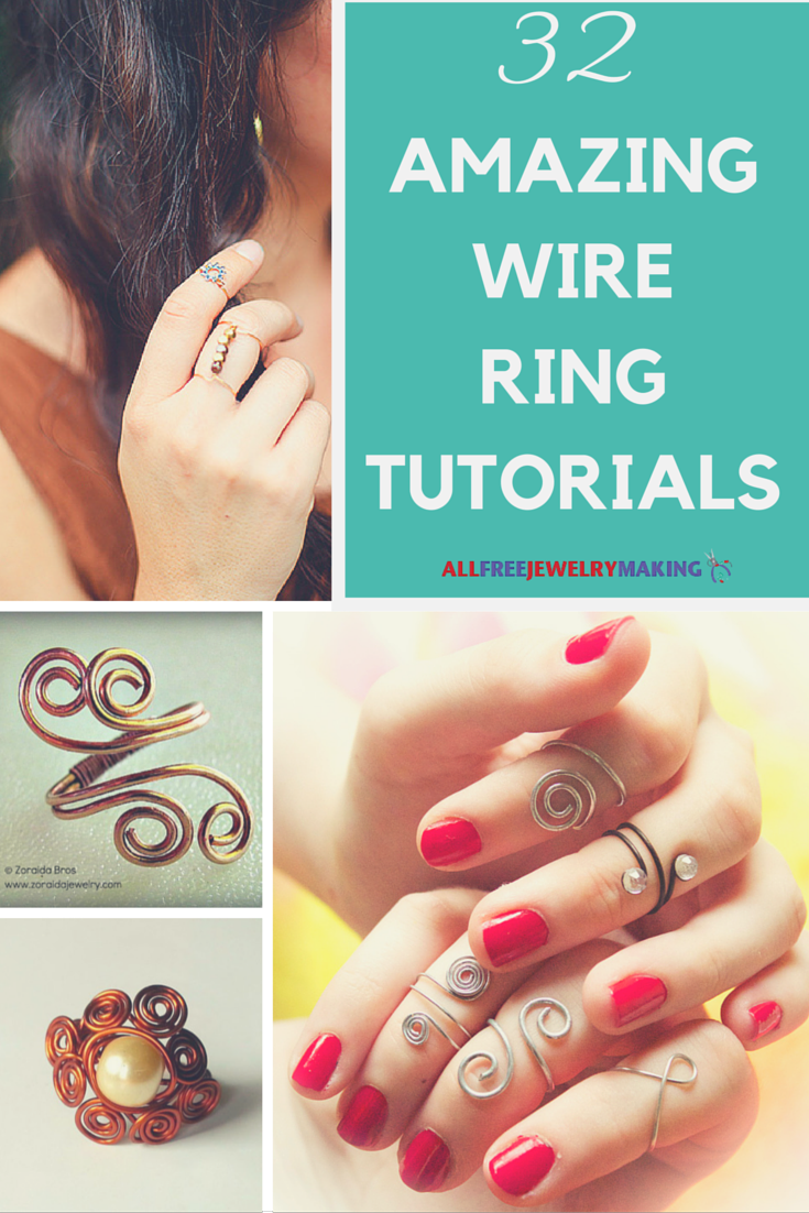 42+ Amazing Wire Ring Tutorials | Wire rings tutorial, Ring tutorial ...