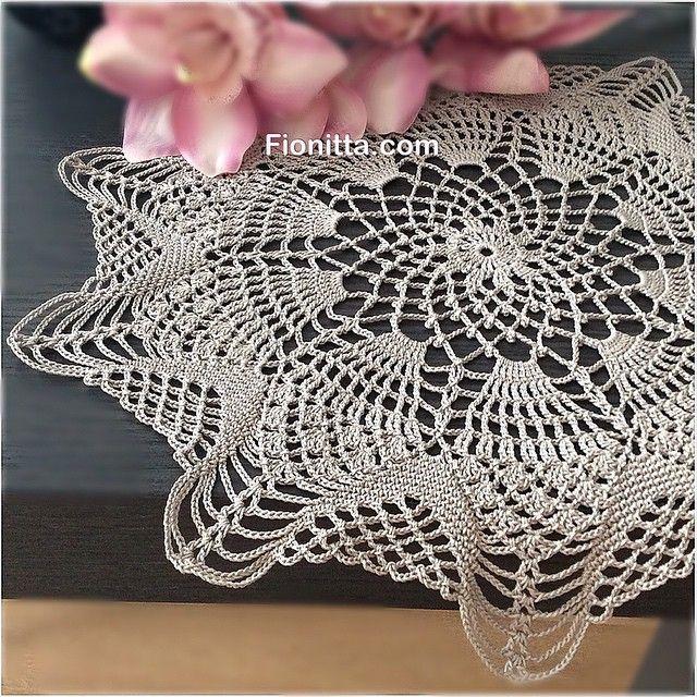 New #crochet doily✨✨✨