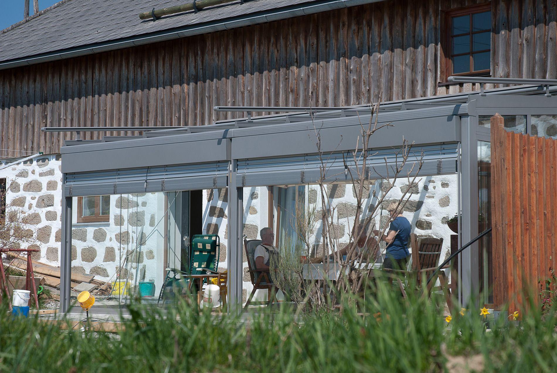 Wintergärten Hersteller wintergarten mit außenbeschattung vom wintergarten hersteller