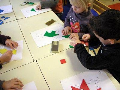 Ecole maternelle de la Fontaine: Des ateliers...