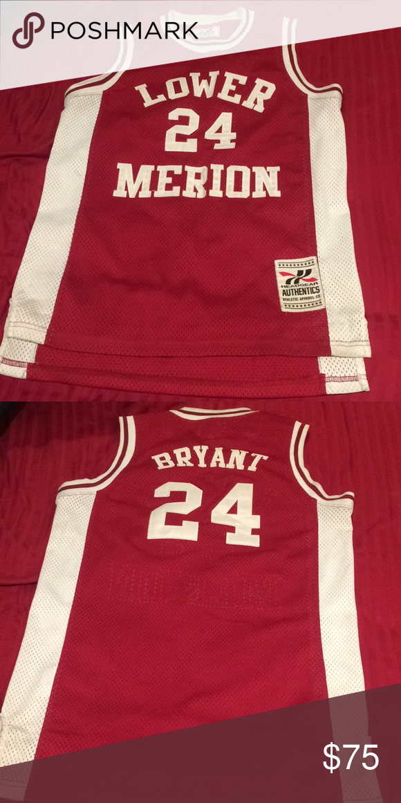 "1409af5e88e Kobe Bryant - Lower Merion High School Jersey ""24"" Great condition Shirts"