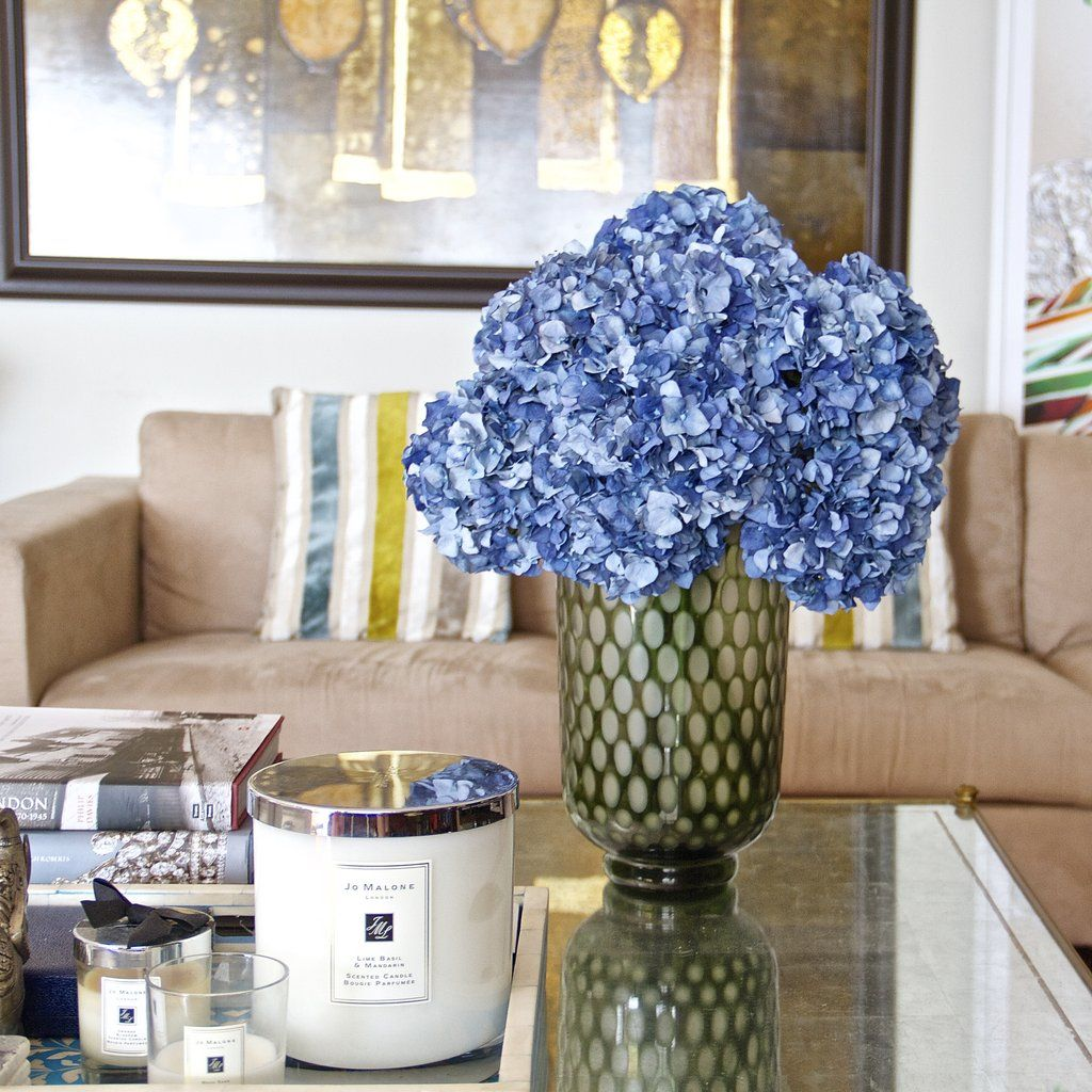 Luxury Realistic Artificial Blue Hydrangea The Most Lifelike Silk Flower From Amaranthine Blooms In Uk Hong Kong Austra Blue Hydrangea Hydrangea Blue Bouquet