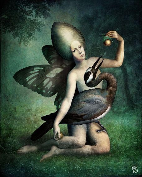 'By your side' von Christian  Schloe bei artflakes.com als Poster oder Kunstdruck