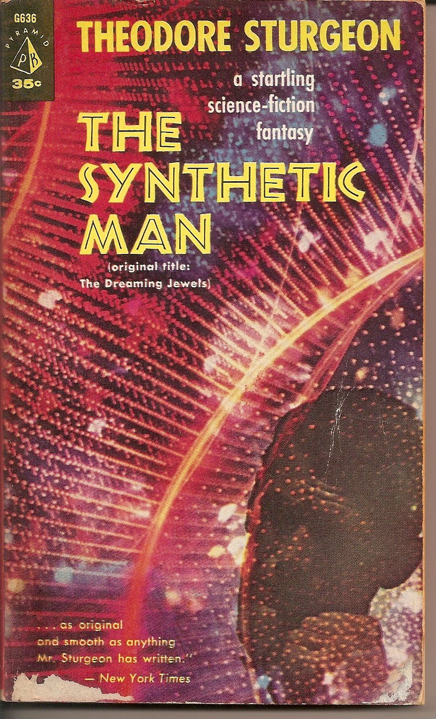 Synthetic Man Theodore Sturgeon Pulp Fiction Book Classic Sci Fi Books Science Fiction