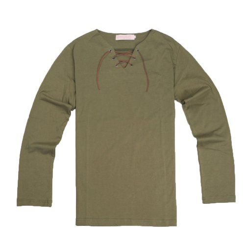 E-Mell Attack on Titan Cosplay Costume Eren Jaeger Long-sleeve Shirt,Size M E-Mell