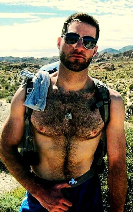 - chest hair Hairy bear boy