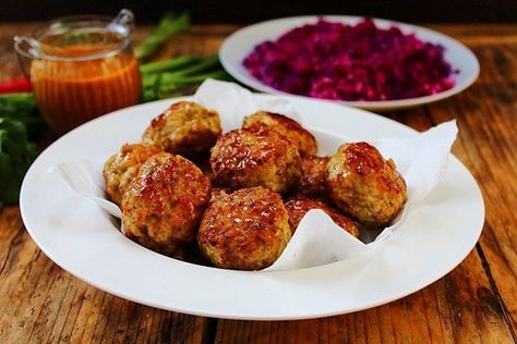 Bombay Turkey Meatballs 1/2 cup (50g) almond flour 60ml (1 ...