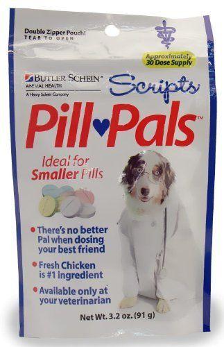 Butler Scripts Pill Pals For Smaller Pills Chicken Flavor Check