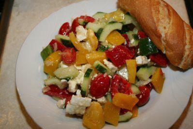 Griechischer Salat - Rezept mit Bild