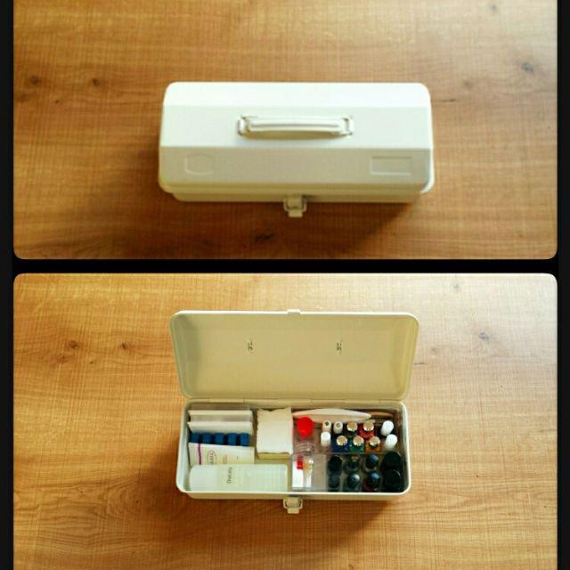 無印良品 スチール工具箱4