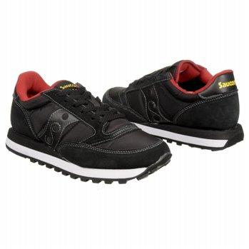 Saucony Jazz Original Shoes (Black/Red) - Men's Shoes - M