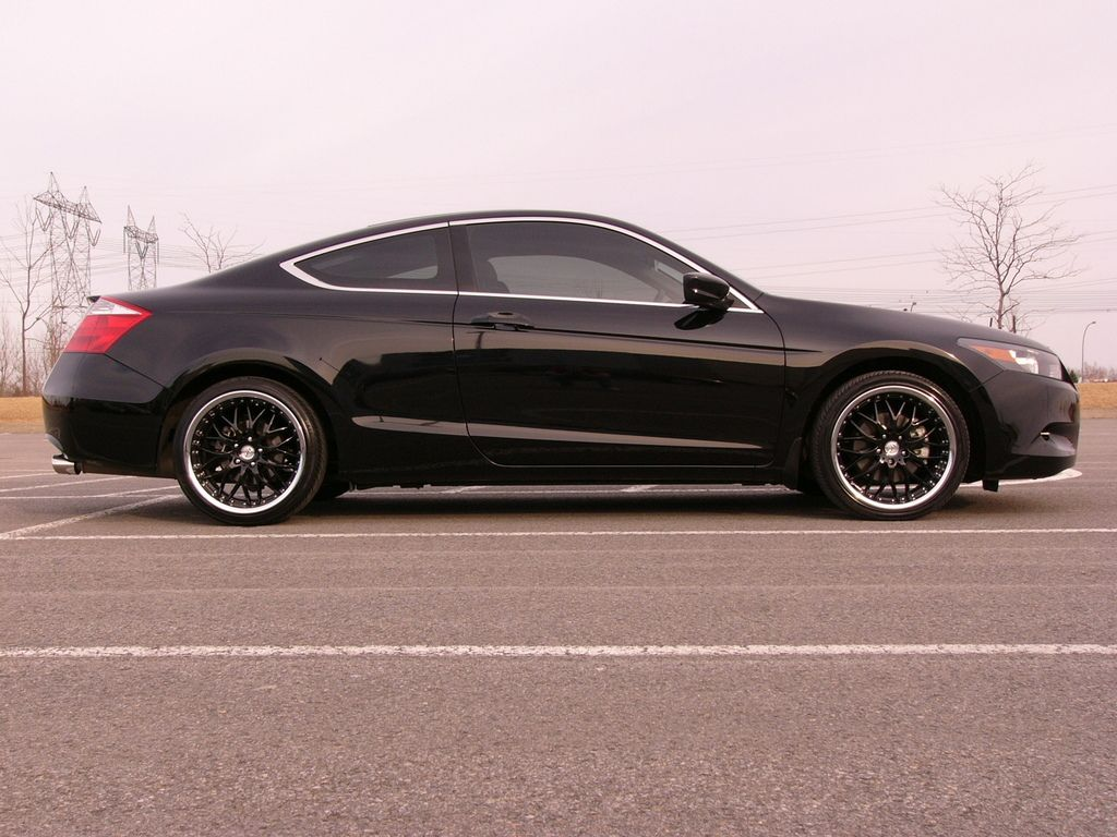 Black Honda Accord coupe Honda accord coupe, Black honda