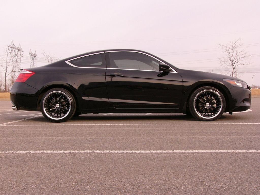 Black Honda Accord coupe  Cars  Pinterest  Cars Honda and