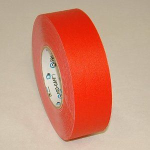 Pro Tapes Pro Gaff Gaffers Tape 2 In X 60 Yds Red Pro Tapes Pro Gaff Gaffers Tape Is A High Strength Vinyl Coated Cloth Tape Gaffer Tape Cloth Tape Gaff
