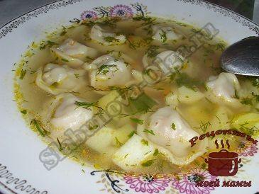 Суп с пельменями, обед на скорую руку | Rezept (mit ...