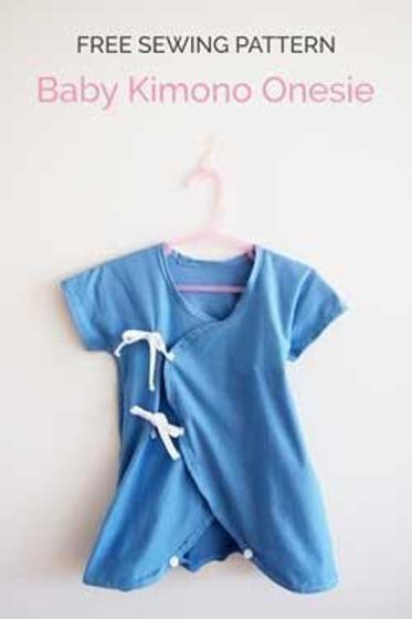 Bébé Kimono Onesie | mode couture bébé | Pinterest | Baby kimono ...