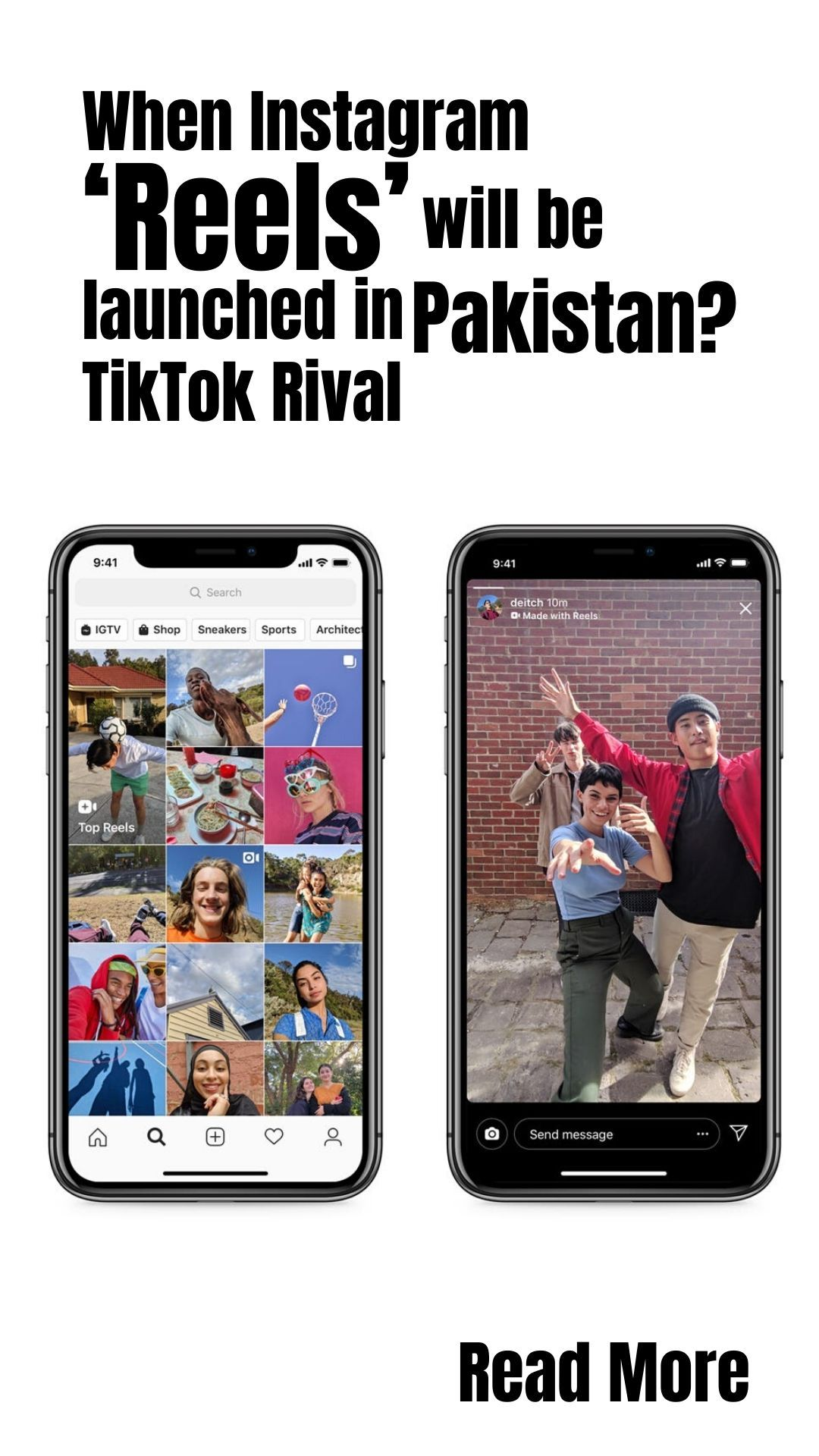 When Instagram Reels Will Be Launched In Pakistan Tiktok Rival Instagram Any Music Product Launch