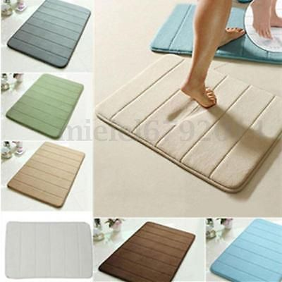 #40*60cm memory foam #microfibre bath room mat non-slip absorbent pad #carpet hot,  View more on the LINK: 	http://www.zeppy.io/product/gb/2/152322517003/