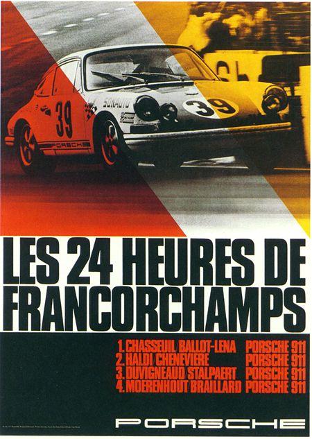 Vintage Porsche Posters H Le Mans Le Mans And Vintage - Sports cars posters