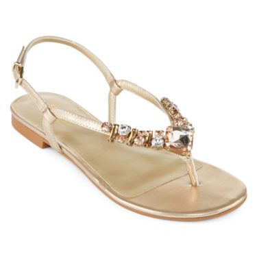 e3c4670a3f39d a.n.a® Janice Thong Sandals - JCPenney