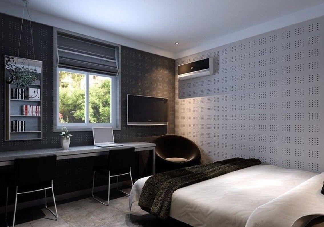Bedroom Wall Unit Designs Bedroomfascinatingdecoratingideasusingrectangularwhite