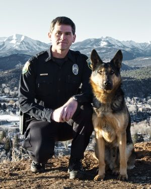 The Durango, CO Police Department Patrol K-9 Unit originated in 2010 with one German shepherd trained as a patrol dog. The police department only has one canine team currently. Uto was born in Slovakia on April 15, 2009.  He is a dual purpose narcotics/patrol dog purchased for the Durango Police through donations from the Durango community.