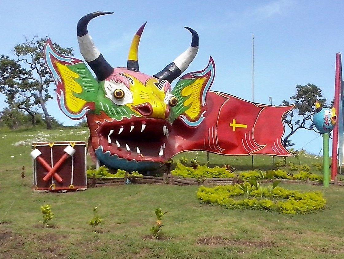 Yare, Monumento de los Diablos Danzantes de Yare, Estado MIranda ...