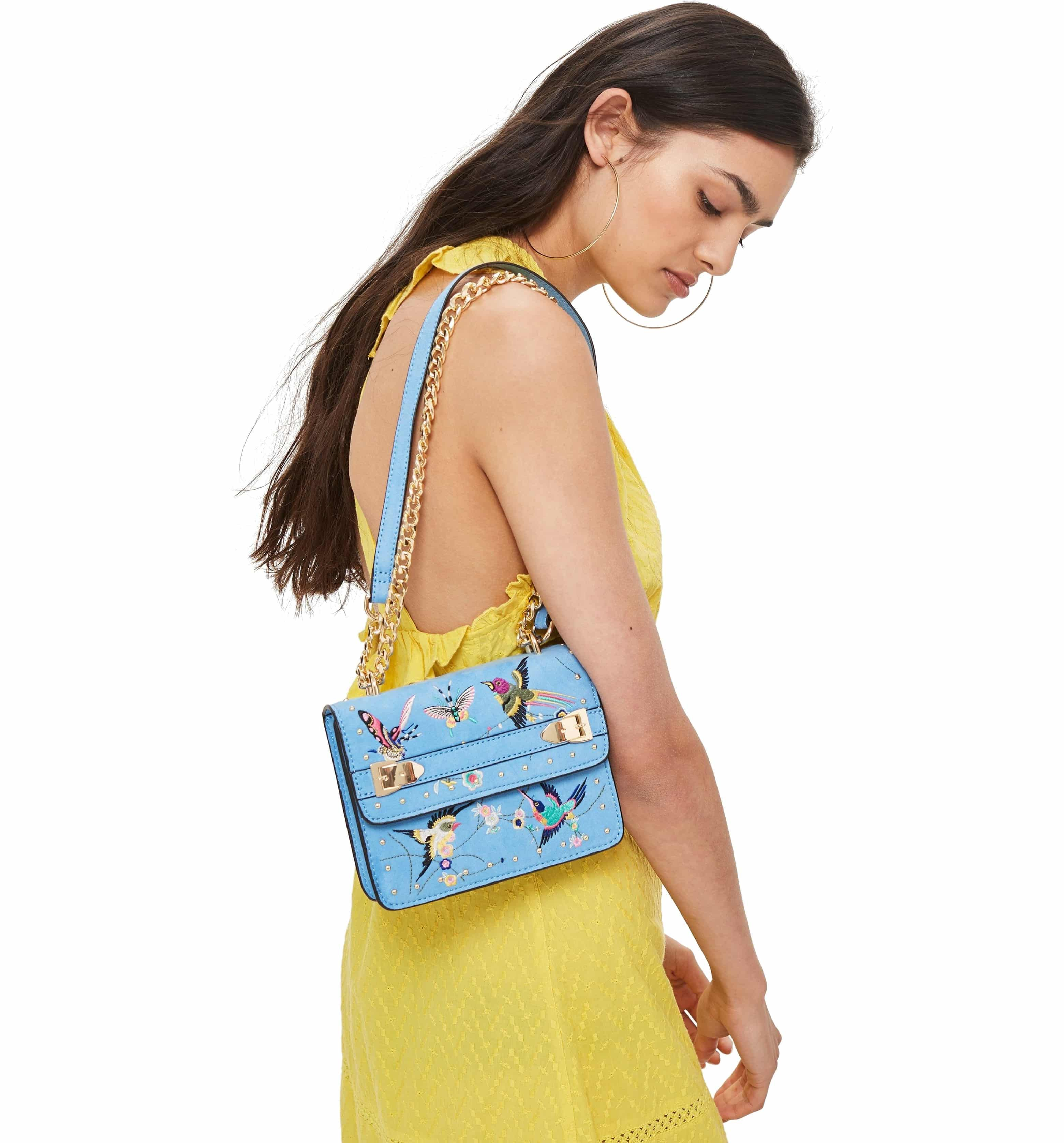 88a21a6d3e Polly Bird Embroidered Crossbody Bag