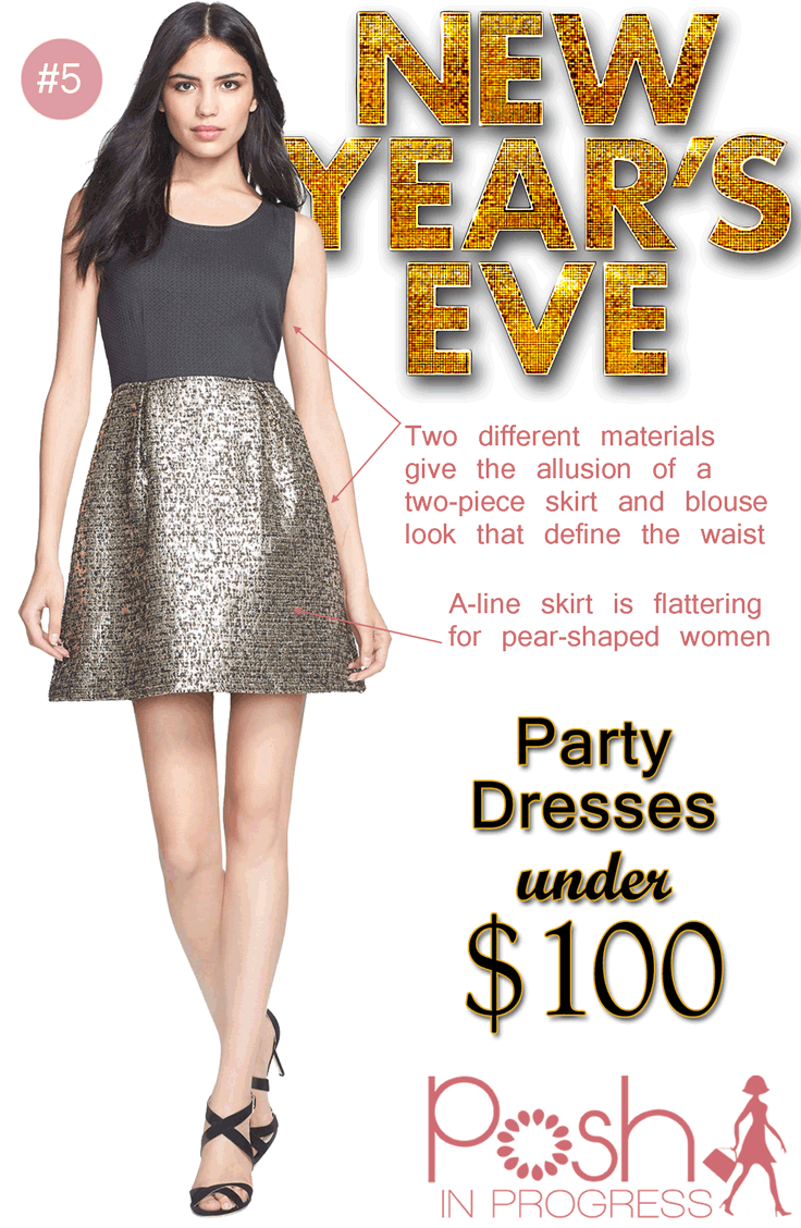 New Years Eve Party Dress Under $100 @Nordstrom @collectiveconcepts #fashion #style