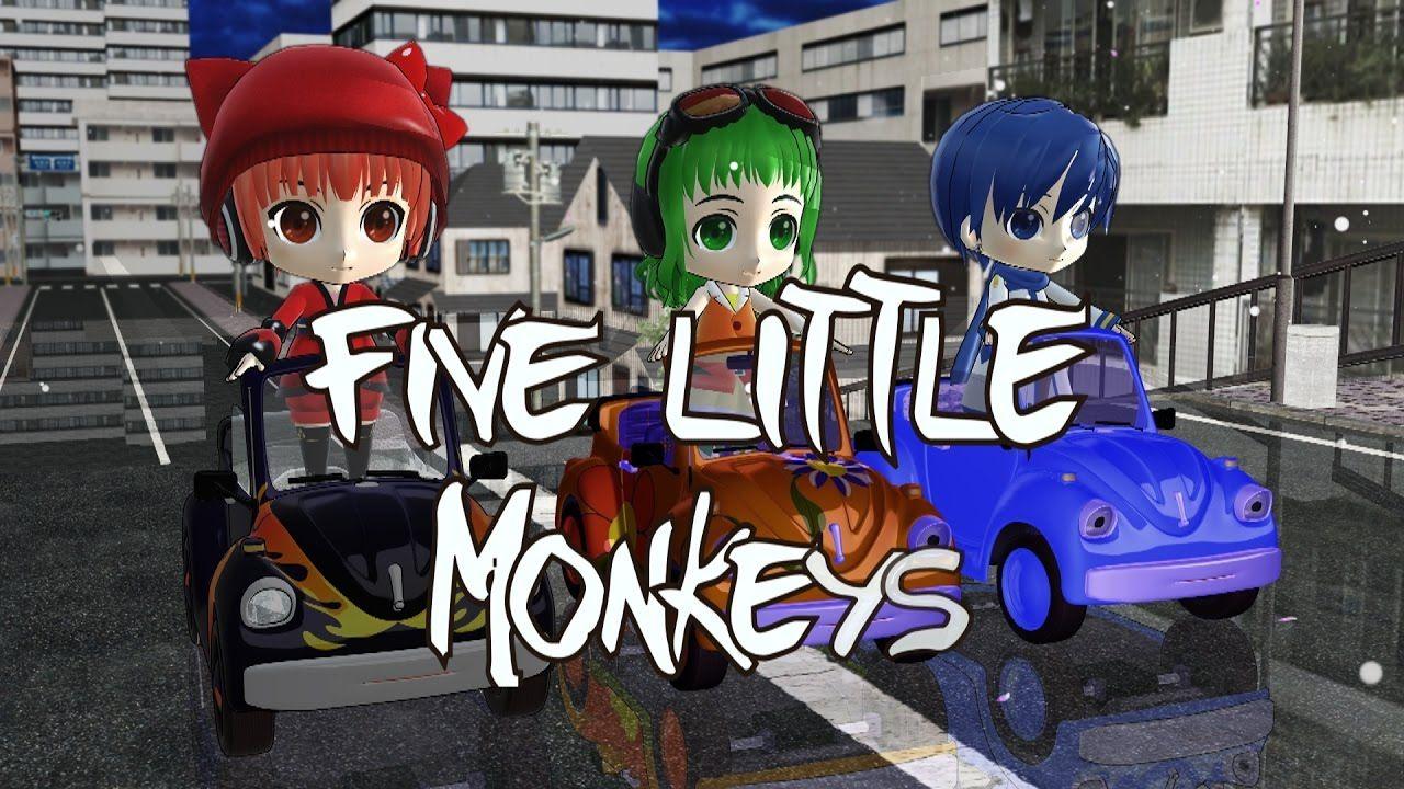 five little monkeys song car songs kids songs frozen songs nurse