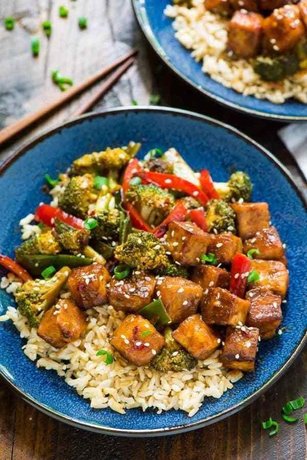 18 healthy recipes Shrimp tofu ideas