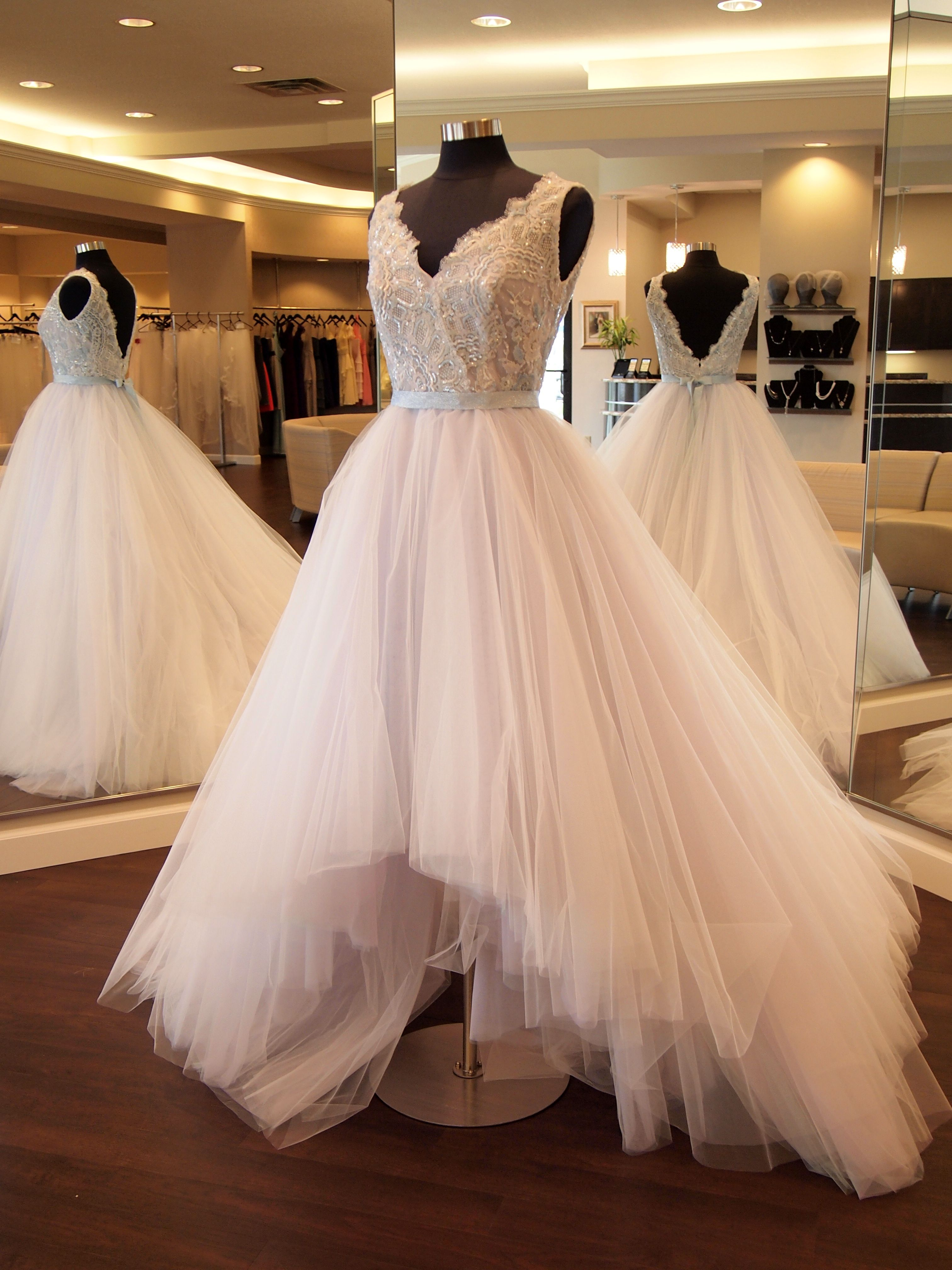 low cost wedding dresses in atlantga%0A Lazaro      in Wisteria found at One Fine Day Bridal and Gown Boutique in  Fort Wayne
