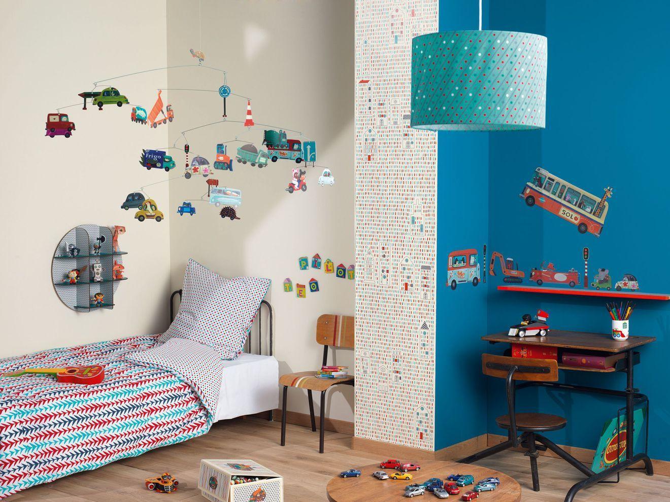 Stylish Peinture Chambre Garon 6 Ans Couleur Chambre Enfant Id Es ...