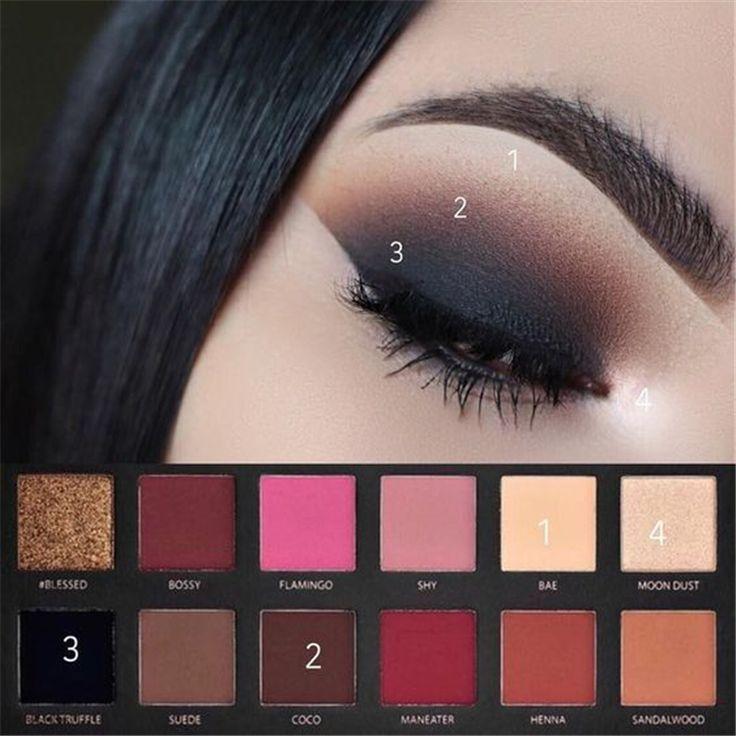 23 Maquillage des yeux Smokey naturel brillant Make You #EyeMakeup, #eyemakeup