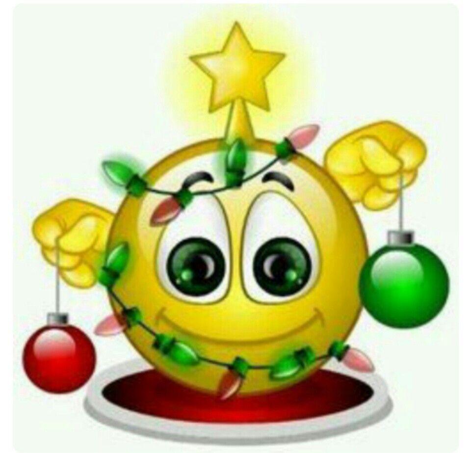 Christmas Tree Emoticons Smiley Emoticon Emoji Christmas