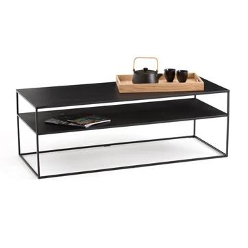 Metal Coffee Table Hiba La Redoute Interieurs Coffee Table En 2020 Table Basse Metal Table Basse Table Basse Verre