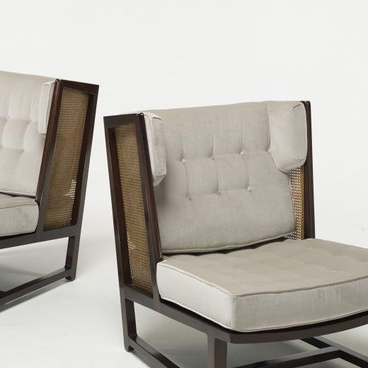 EDWARD WORMLEY, Wing Lounge Chairs Model 6016 (Dunbar, USA 1960)