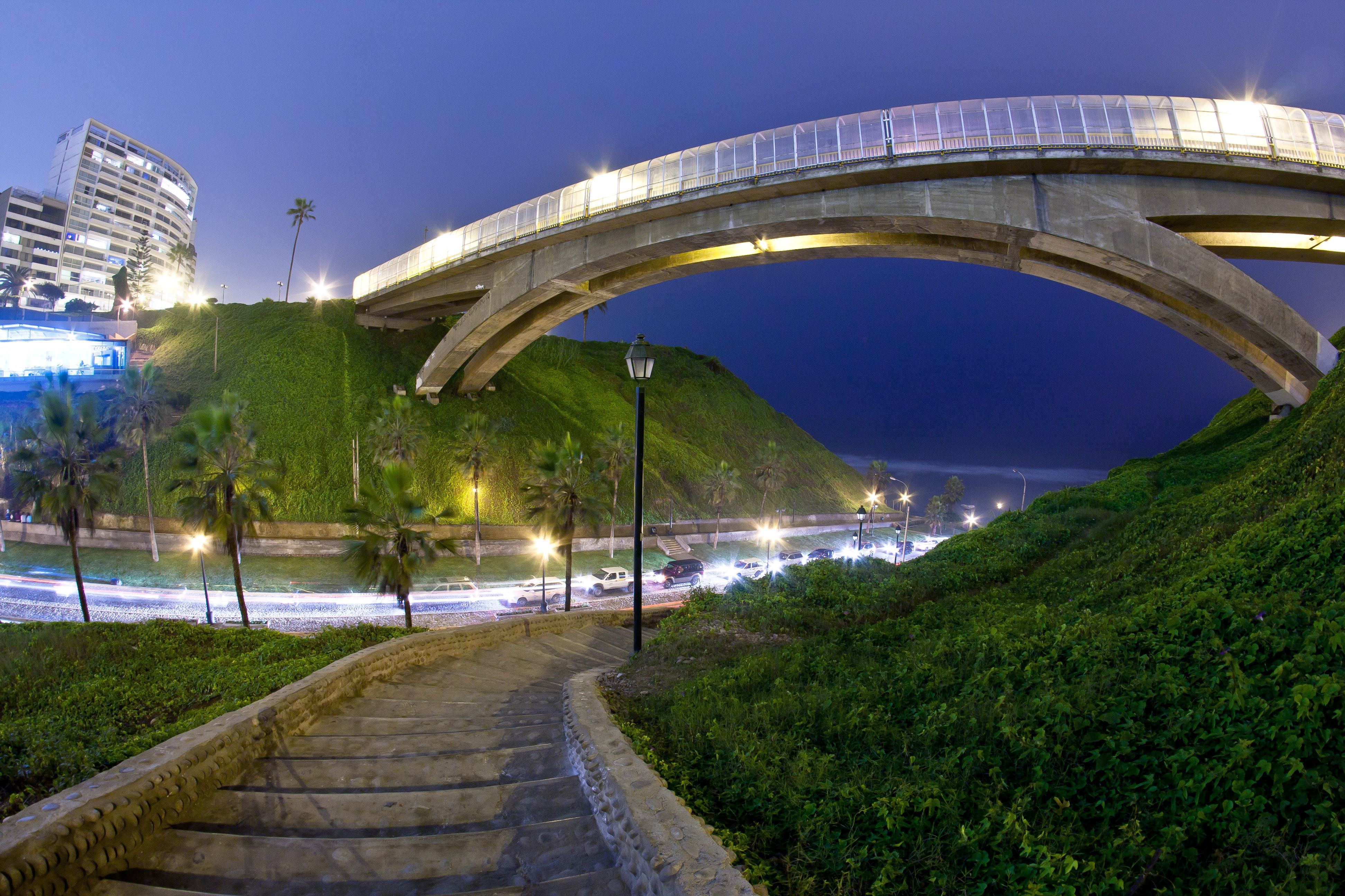 Villena bridge in miraflores,Lima Peru This is the city where my ...