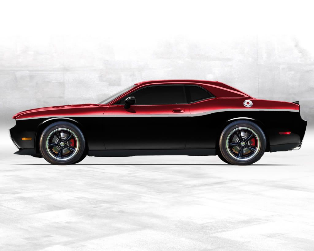 Im Digging The Two Tone On This Challenger Dreamin Pinterest