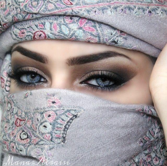 Arabic Make Up Niqab Eyes Gorgeous Eyes Arabic Eyes