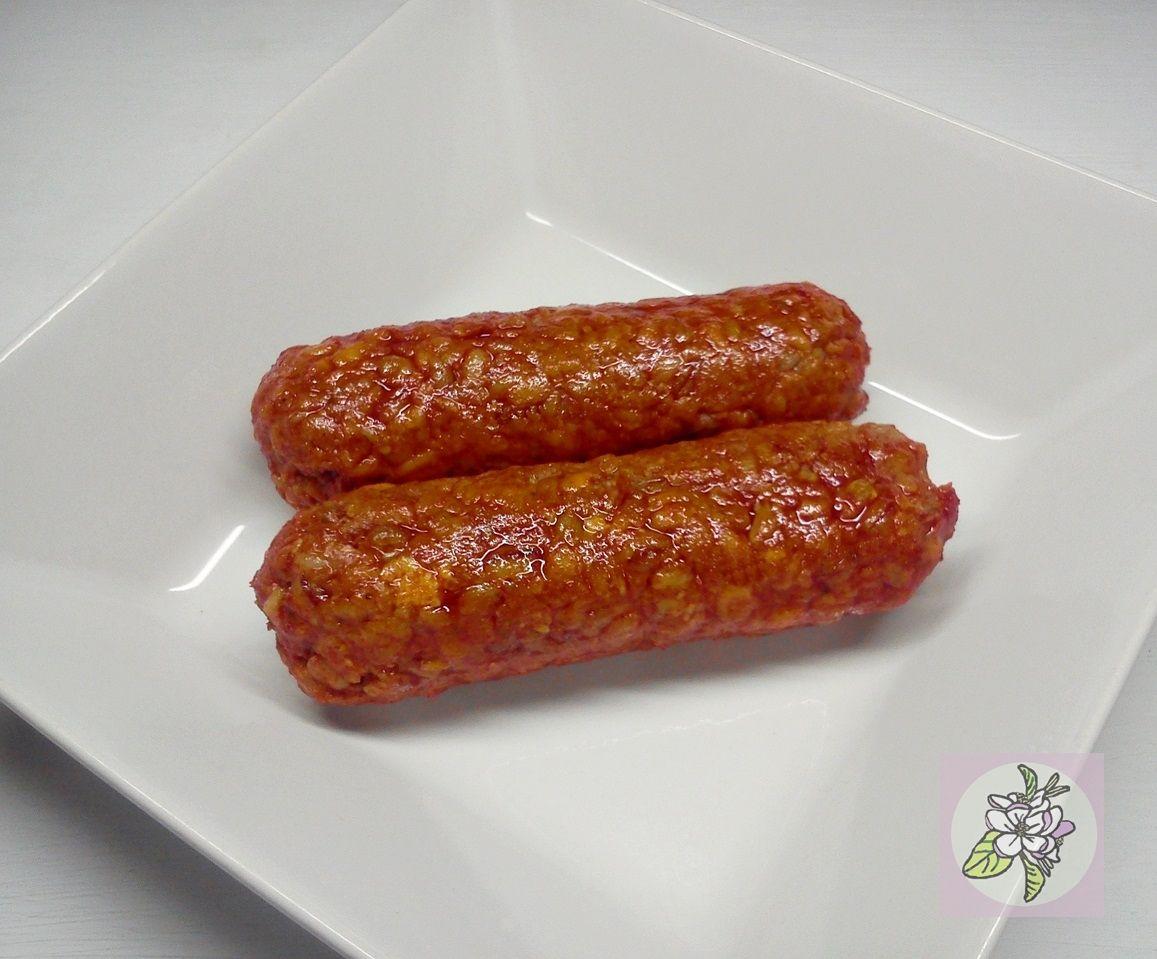 Chorizo Vegano De Cebada Y Tofu Recetas Veganas Comida Vegana Comida Vegetariana