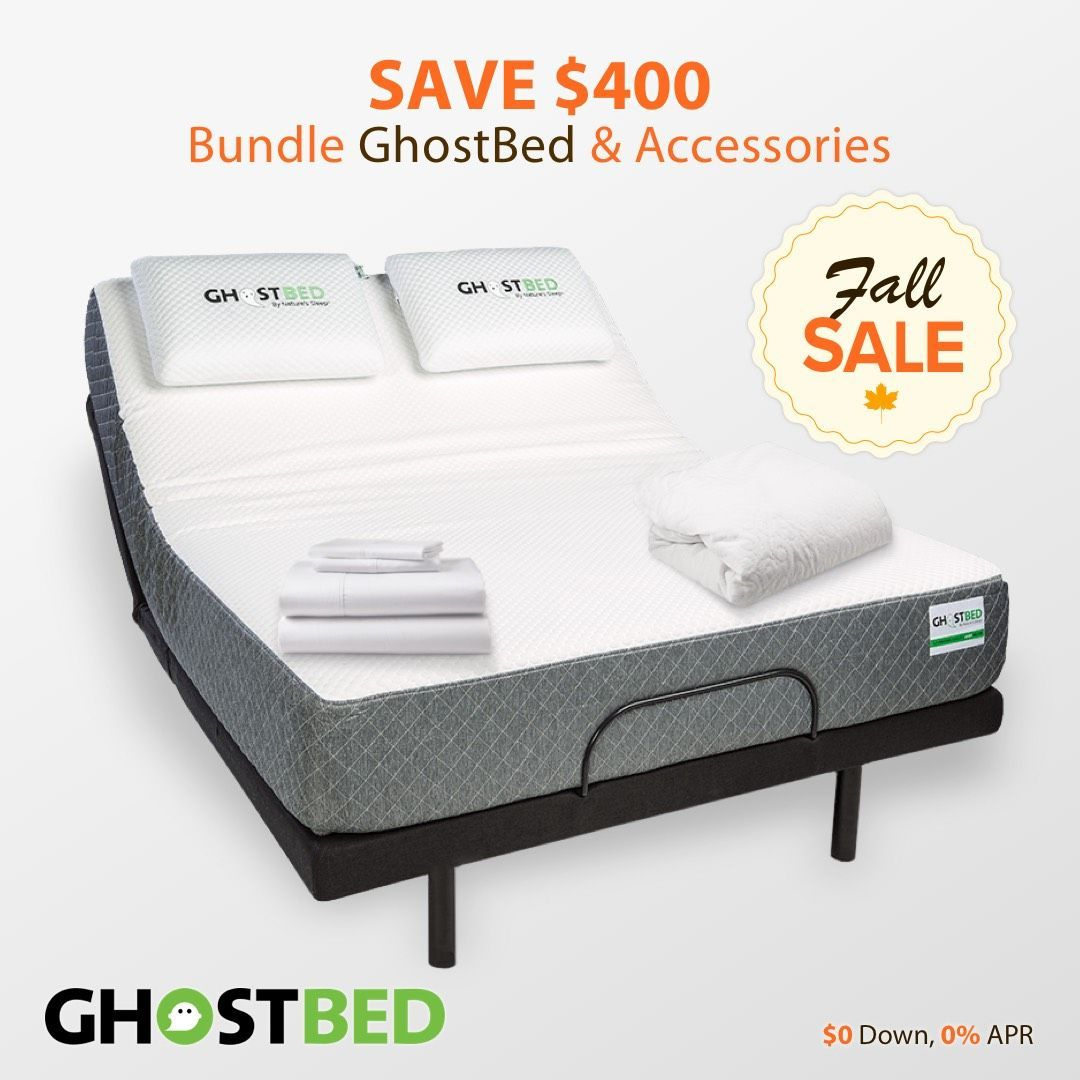 Best Fall Sale Save Up To 400 When Bundling Ghostbed Products 400 x 300