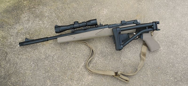Interesting scout rifle made from an Ishapore Enfield  | Gun