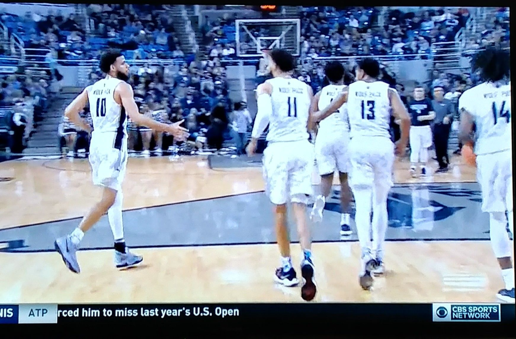 U of Nevada basketball team runs to timeout in consecutively