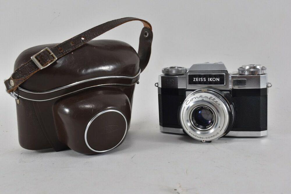 Ebay Sponsored I40m28 Alte Fotokamera Zeiss Ikon Mit Tasche